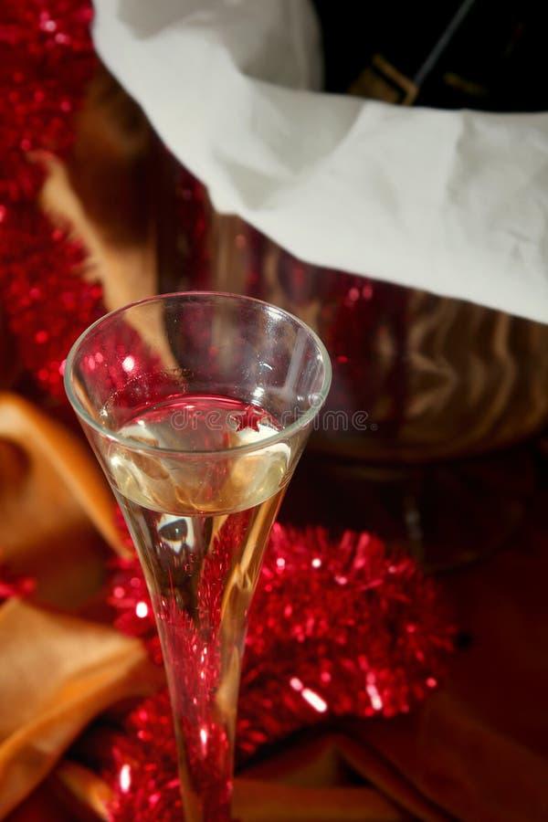 Golden celebration royalty free stock photos