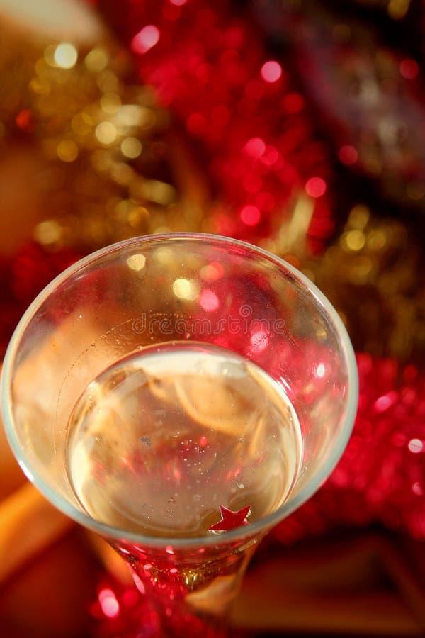Golden celebration stock image