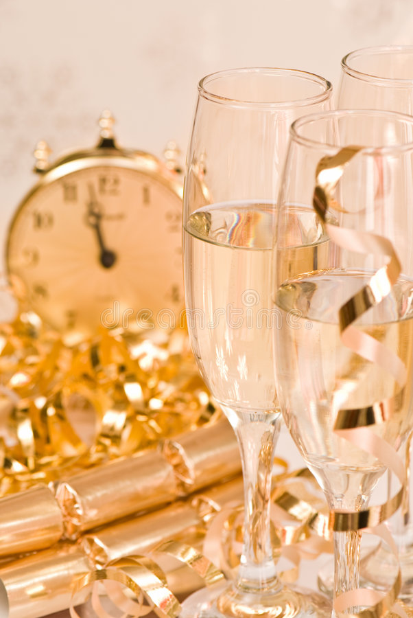 Golden Celebration royalty free stock images