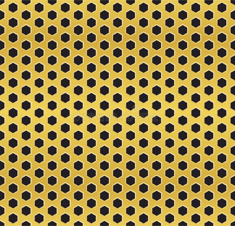 Download Golden Cell Background (version 2) Stock Vector - Image: 31829910