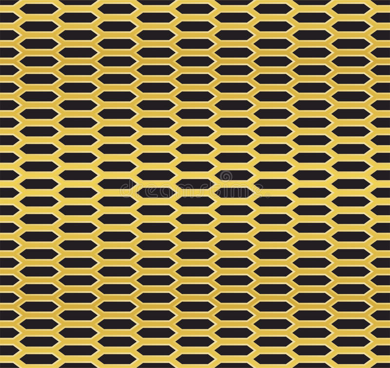 Golden Cell Background (version 3) Stock Photos
