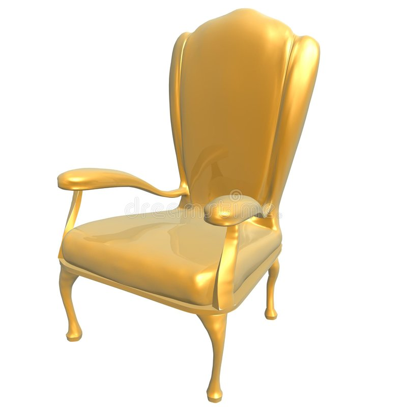 Genial Download Golden Chair Of King Stock Illustration. Illustration Of Shine    2837587