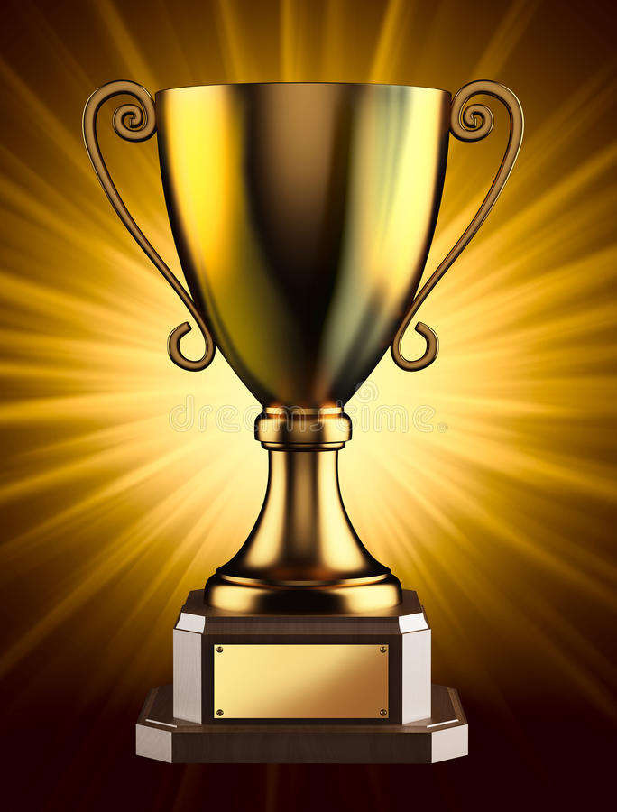 Golden champion cup