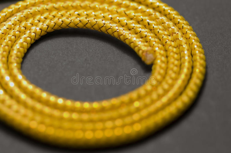 Golden Chord Detail Stock Images