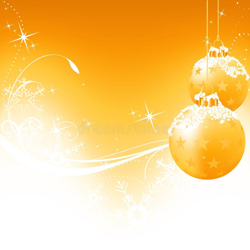 Golden Christmas Background. Colored abstract illustration vector illustration