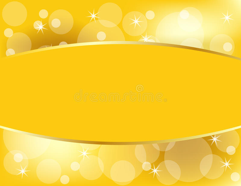 Golden Christmas Background With Copy Space Royalty Free Stock Image