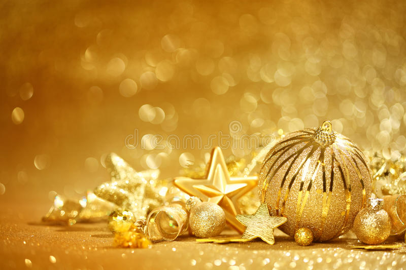 Download Golden Christmas Background Stock Images - Image: 34842324