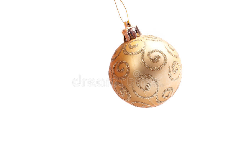 Download Golden Christmas Ball Stock Photos - Image: 22018543