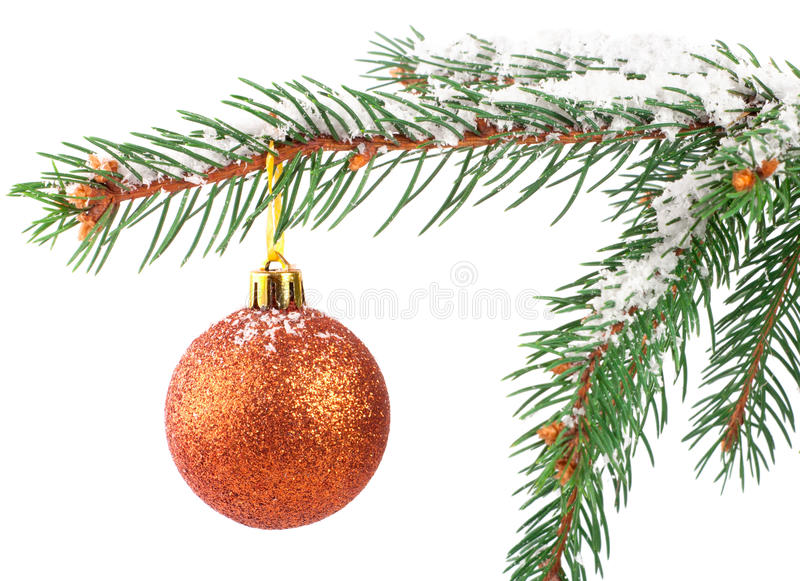 Download Golden Christmas Bauble Stock Photography - Image: 16936502