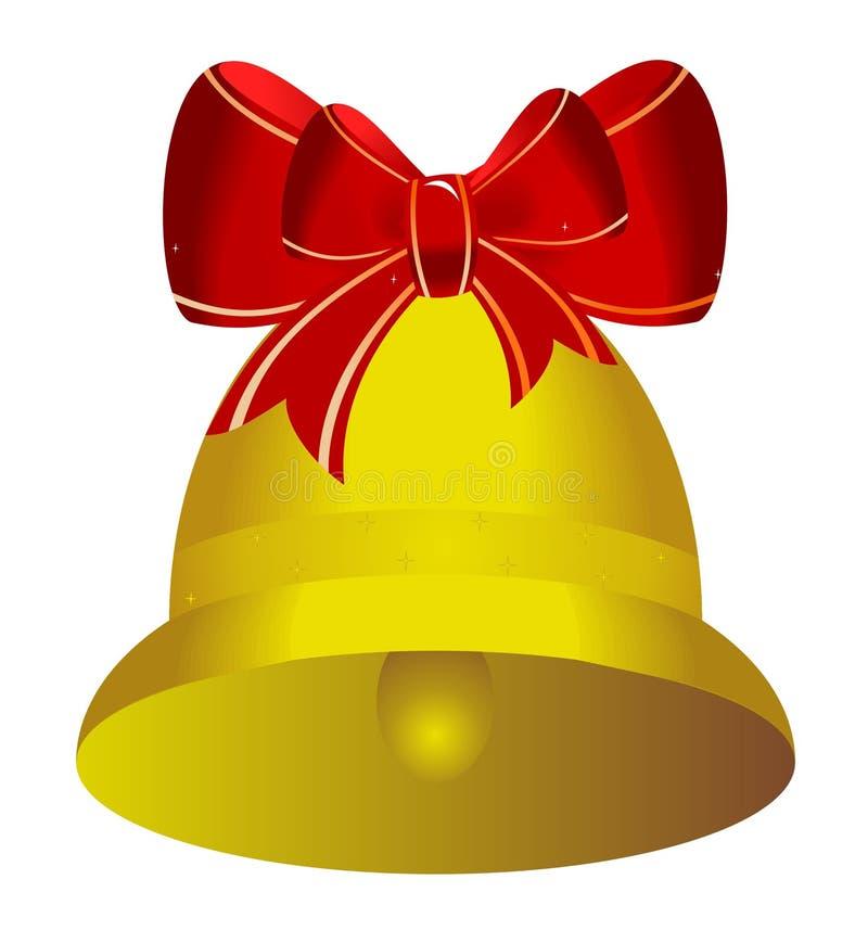 Free Golden Christmas Bell Stock Photos - 12036693
