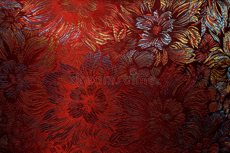 Golden-claret fabric. Golden-claret nice fabric. Good light reflection royalty free stock images
