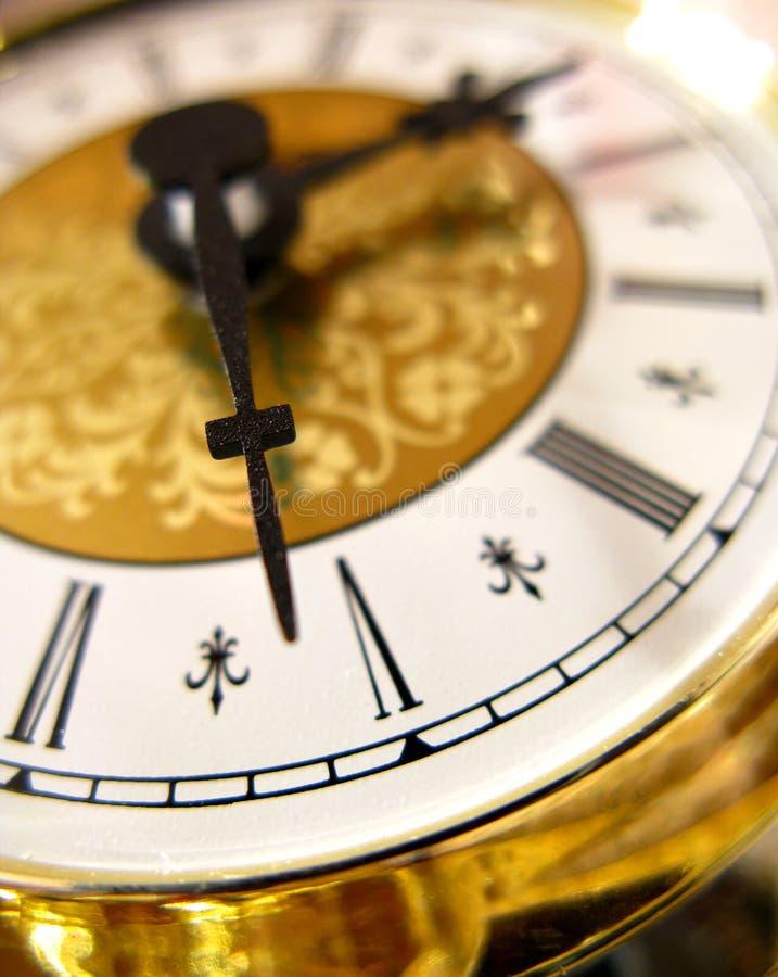 Download Golden clock stock image. Image of decorated, roman, golden - 12895999