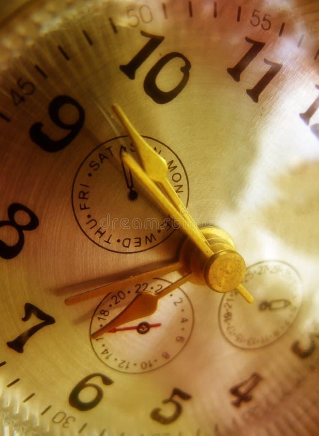 Download Golden clock stock image. Image of hands, shading, luxe - 26747497