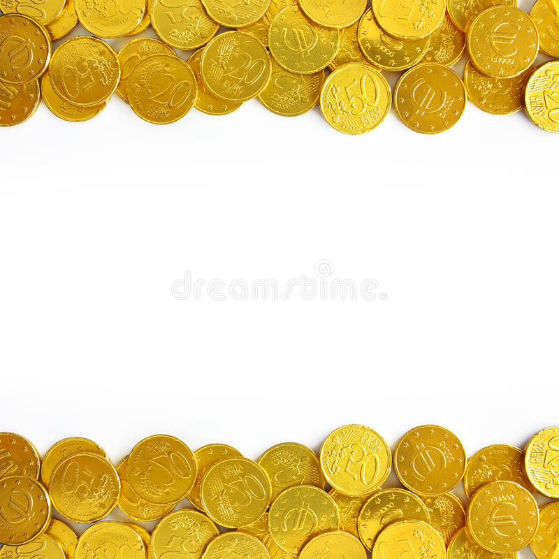 Download Golden coins stock image. Image of festive, golden, coins - 18954445