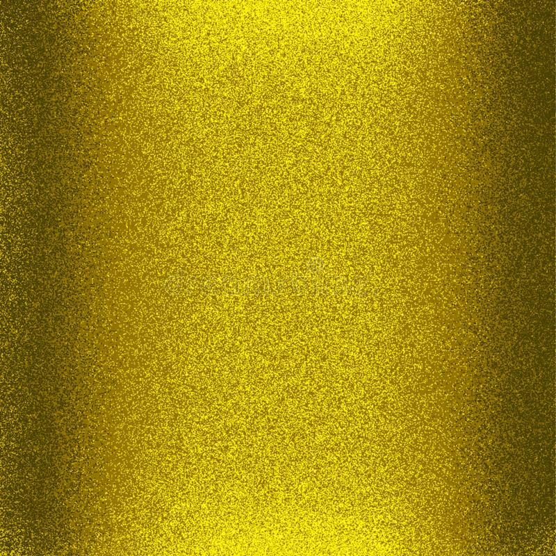 Golden color glossy and shining glitter paper with light and 3 d effect computer generated background image and wallpaper design stock illustration