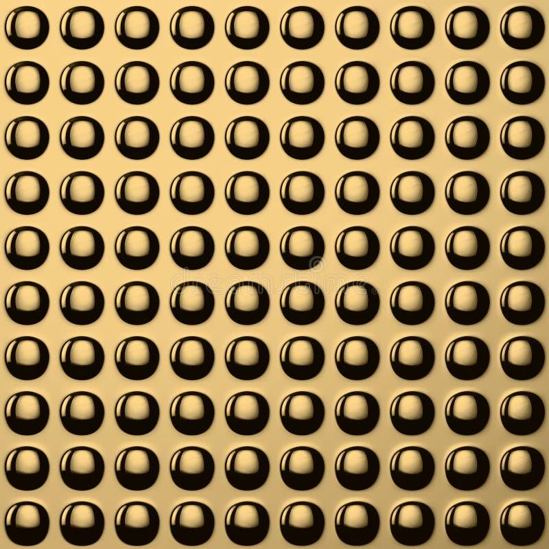 Download Golden convex pattern stock illustration. Image of mesh - 29093830