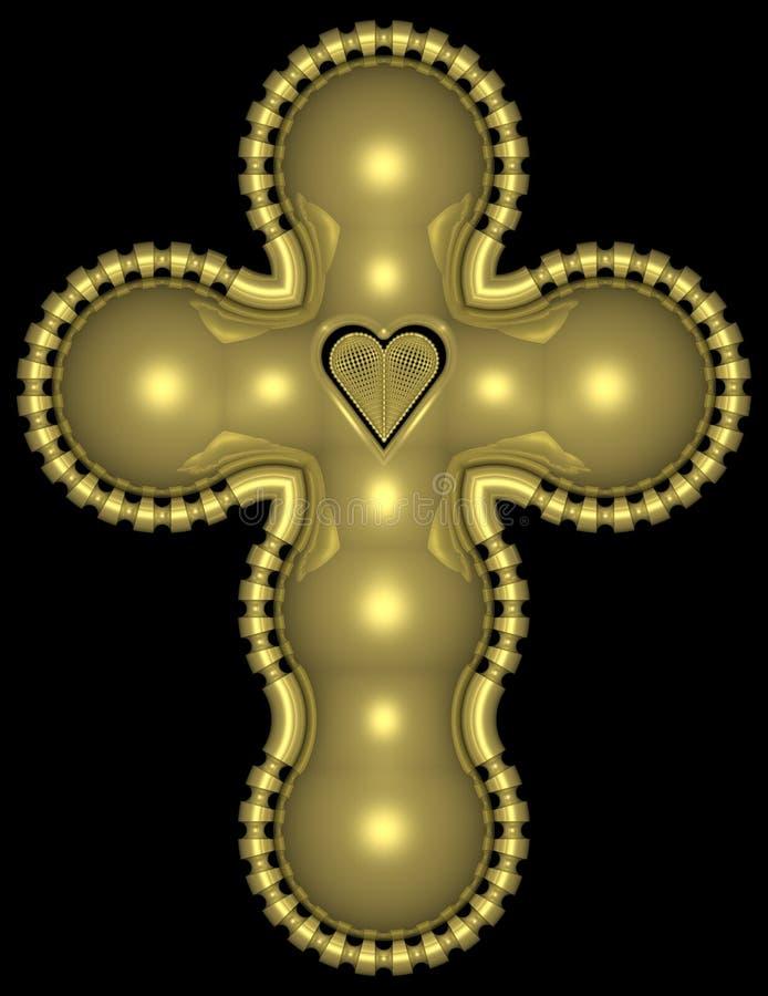 Free Golden Cross 001 Stock Images - 728004