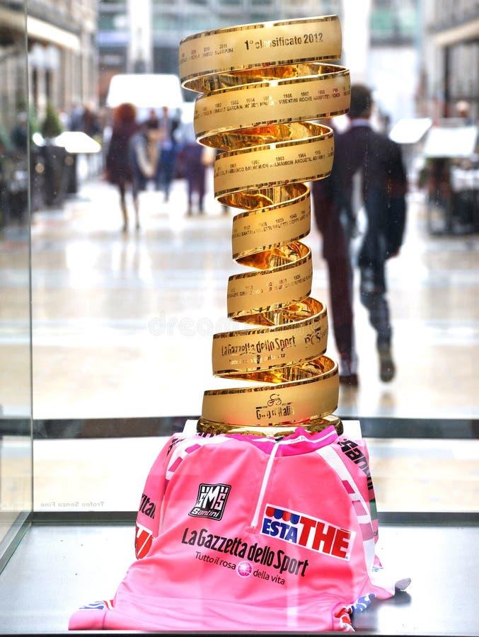 Golden cup of Giro d Italia