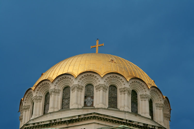 Golden cupola stock photos