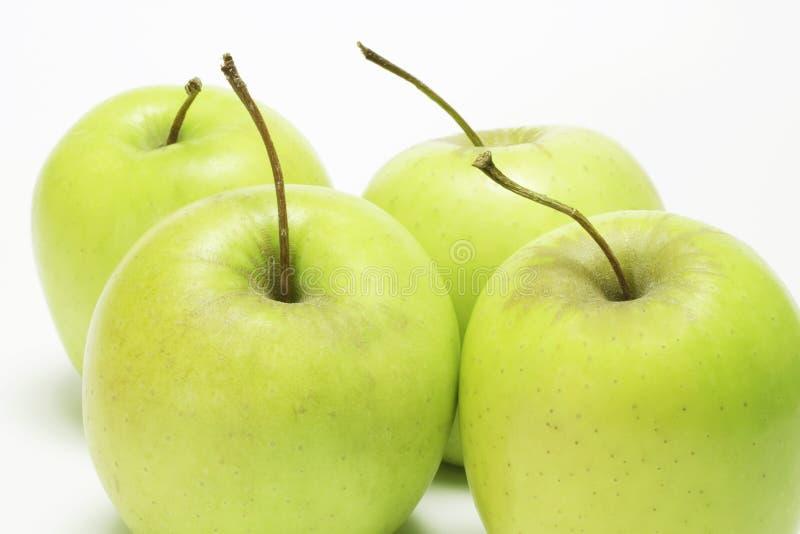 Golden- Deliciousäpfel stockfotos