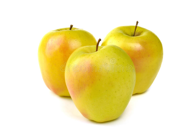 Golden- Delicious Apfel lizenzfreies stockbild