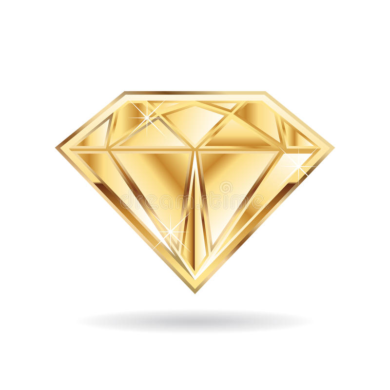 depositphotos valdum stock icon golden photo diamond