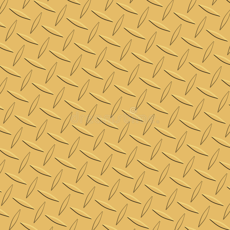 Download Golden Diamond Plate Stock Illustration Of Wallpaper