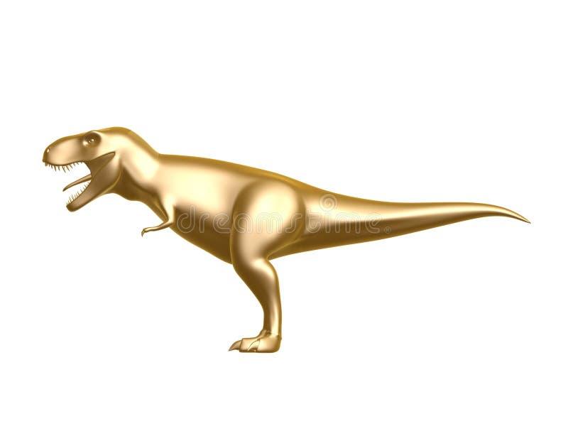 Golden Dinosaur Stock Photos