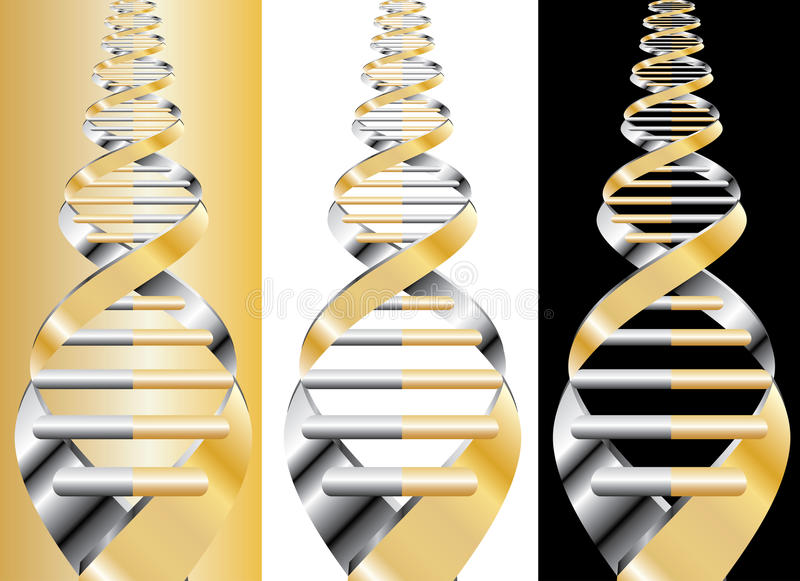 Download Golden DNA Stock Photography - Image: 9413212