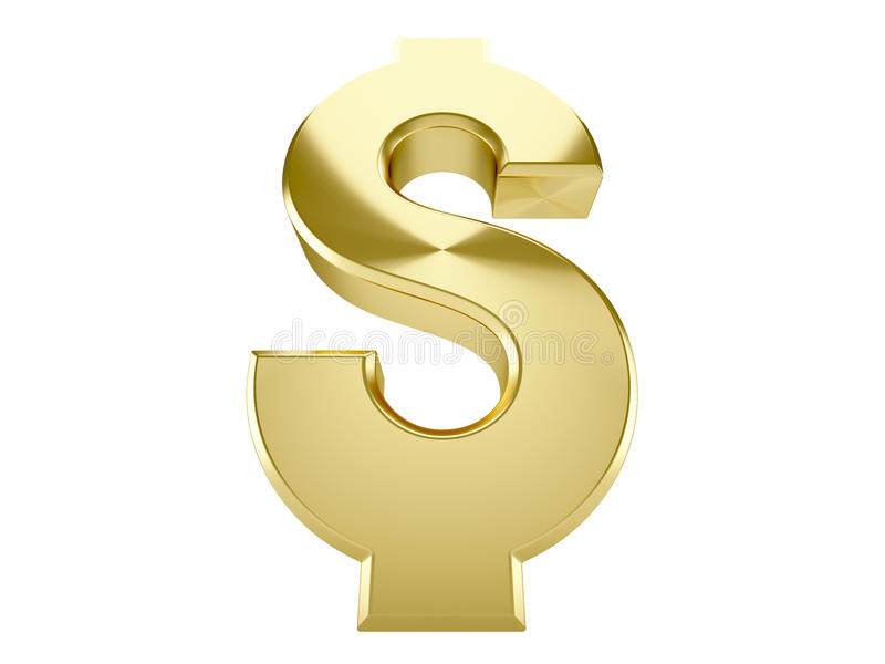 Download Golden Dollar Stock Photography - Image: 23719552