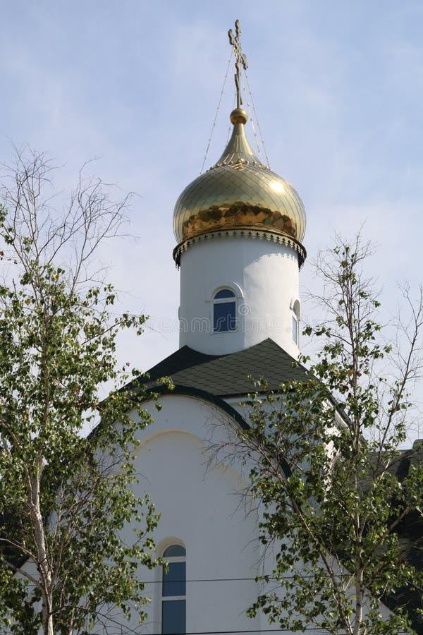 Golden Dome du temple images stock