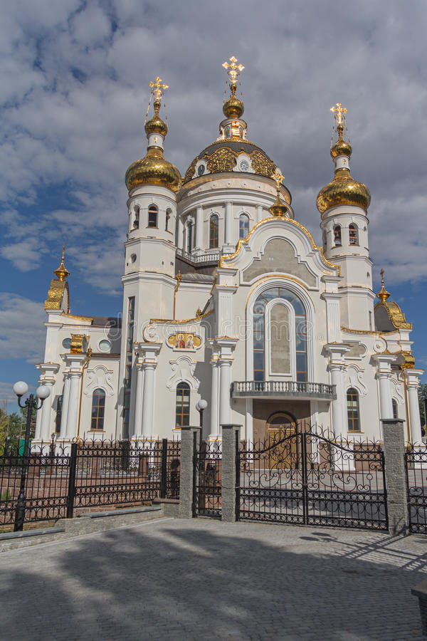 Free Golden Domes Of The Orthodox Church Royalty Free Stock Photo - 74737415