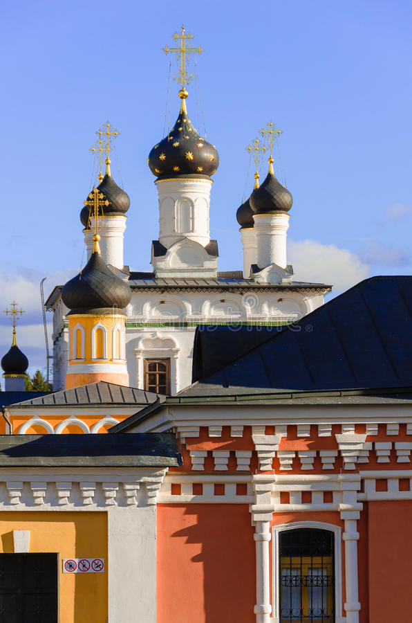Download Golden Domes Of Russia. Dome Ascension Of David Desert - A Functioning Monastery In Moscow Region. Stock Photography - Image: 31298552