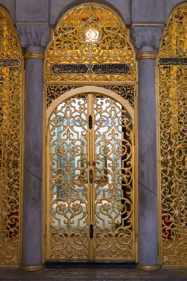 Free Golden Door In Topkapi Palace In Istanbul Royalty Free Stock Photos - 46250548