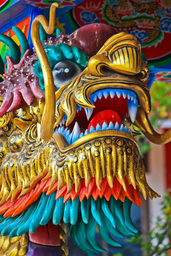 Download Golden dragon stock image. Image of antique, detail, architecture - 14427299