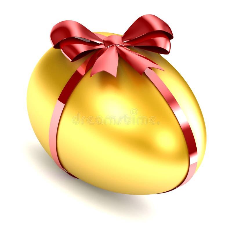 Download Golden Egg stock illustration. Image of celebrate, satin - 26927365