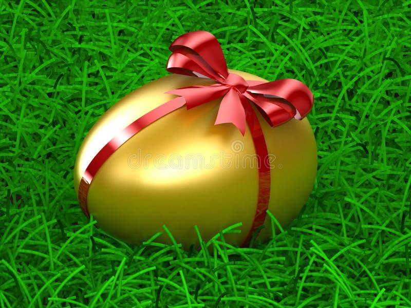 Download Golden Egg stock illustration. Illustration of shadow - 7866159