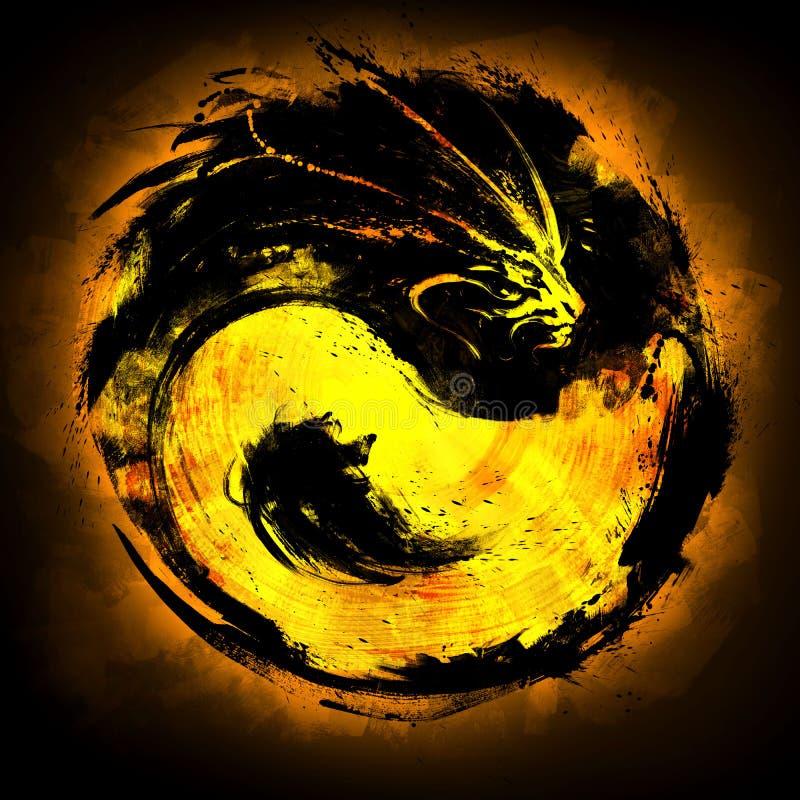 Yin Yang Dragon Stock Illustrations 387 Yin Yang Dragon Stock Illustrations Vectors Clipart Dreamstime