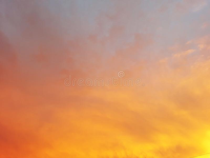 Golden evening sun set royalty free stock images