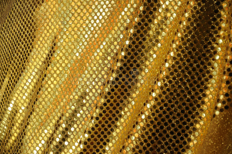 Download Golden fabric luxury stock image. Image of drape, backgrounds - 19212193