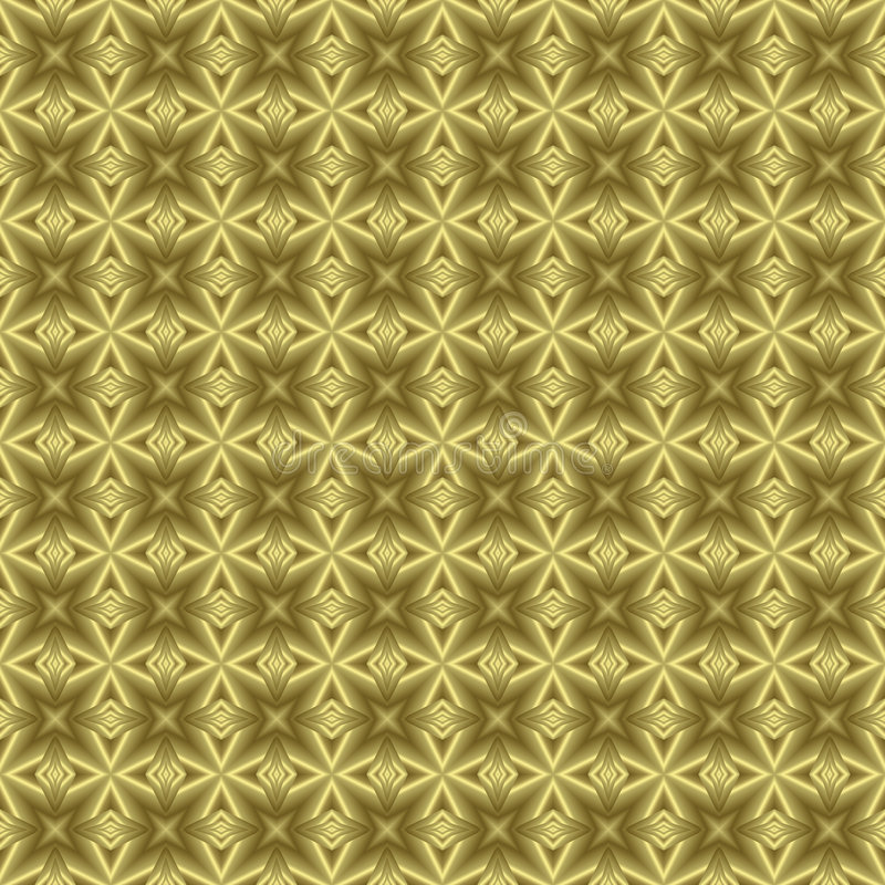 Free Golden Floral Background Texture Royalty Free Stock Images - 4136579
