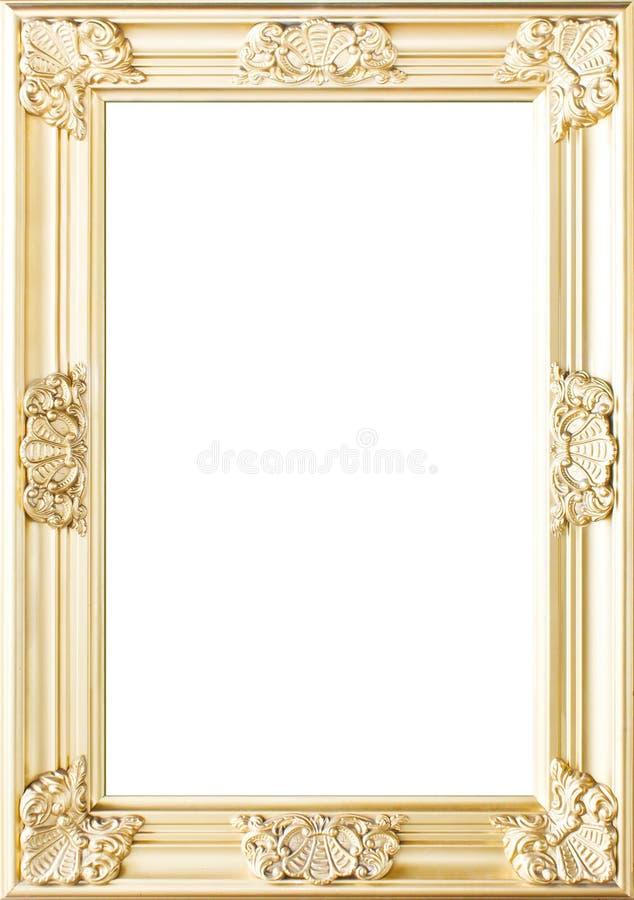 Golden Flowers Photo Frame