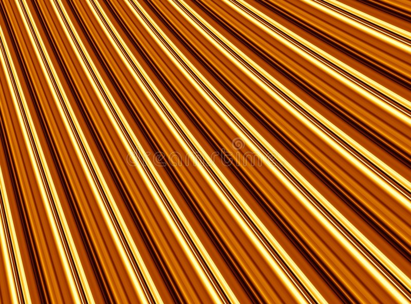 Golden Folds Stock Photos