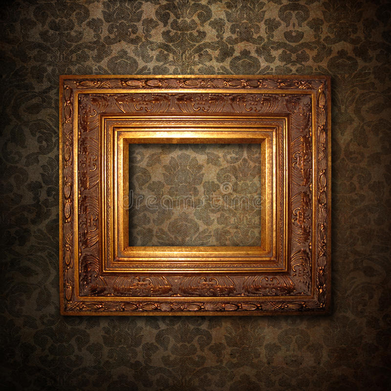 Free Golden Frame Stock Photography - 13025002