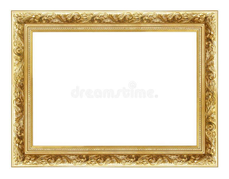 Golden frame 2 stock image