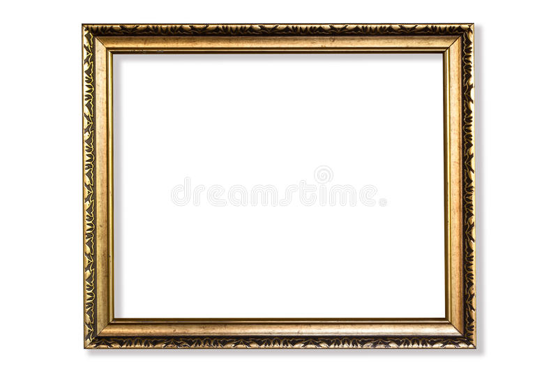 Golden frame royalty free stock image