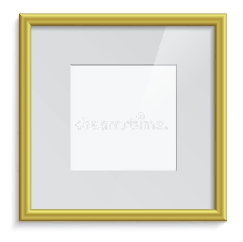 Download Golden frame stock vector. Image of border, decoration - 28684411