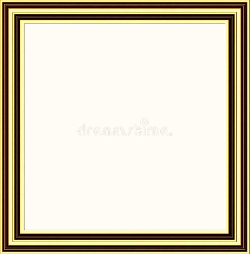Download Golden frame stock illustration. Image of decorate, professional - 28838994