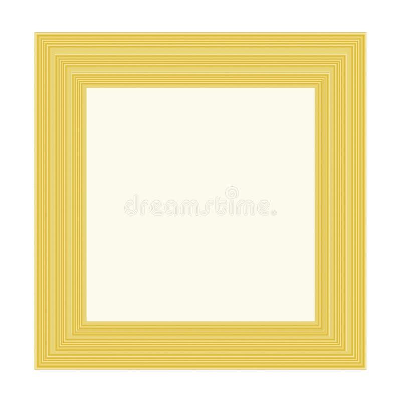 Download Golden frame stock illustration. Illustration of presentation - 28839012