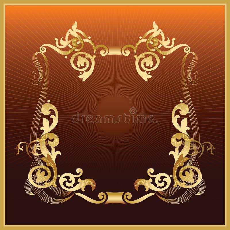Download Golden_frame stock vector. Illustration of background - 4204672